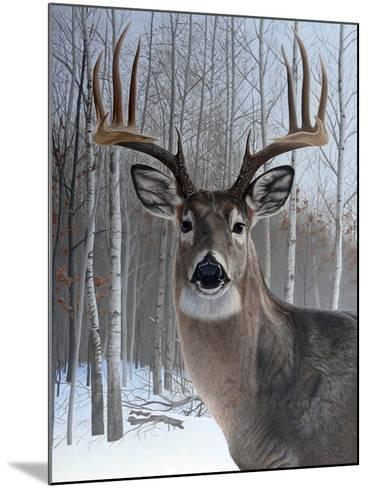 Deer-Rusty Frentner-Mounted Giclee Print