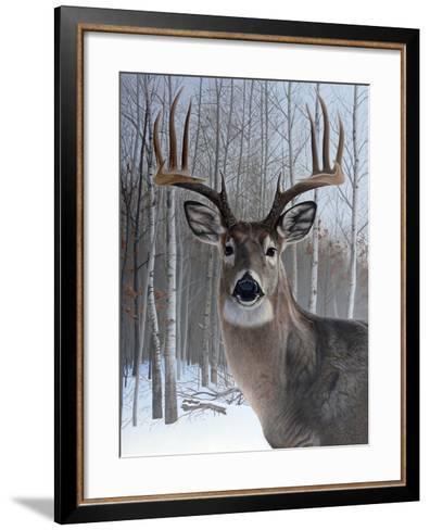 Deer-Rusty Frentner-Framed Art Print
