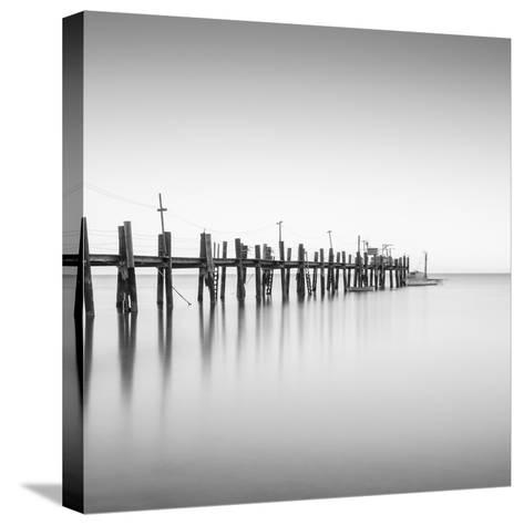 China Camp Pano BW 2 of 3-Moises Levy-Stretched Canvas Print