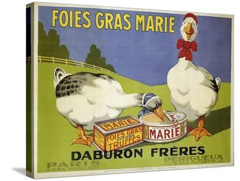 Foiesgrasmarie--Stretched Canvas Print