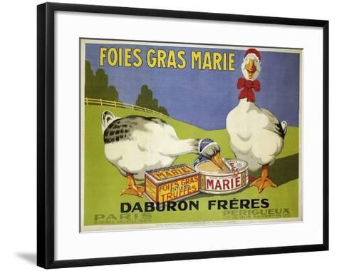 Foiesgrasmarie--Framed Art Print