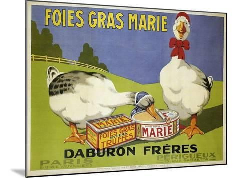 Foiesgrasmarie--Mounted Giclee Print