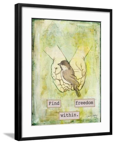 Find Freedom Within-Tammy Kushnir-Framed Art Print
