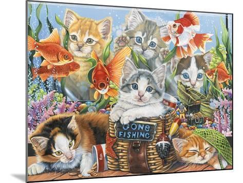 Gone Fishing-Jenny Newland-Mounted Giclee Print