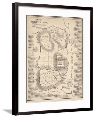 Holy Land V--Framed Art Print