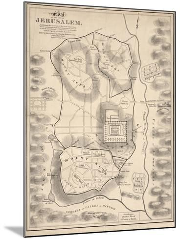 Holy Land V--Mounted Giclee Print