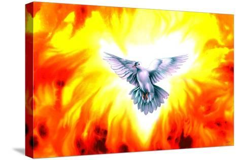 Holy Spirit Fire-Spencer Williams-Stretched Canvas Print