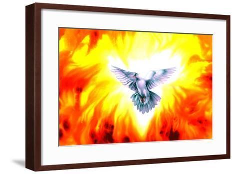 Holy Spirit Fire-Spencer Williams-Framed Art Print