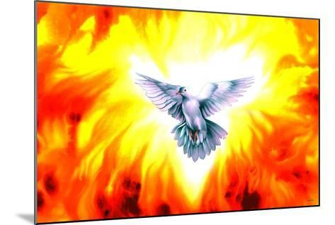 Holy Spirit Fire-Spencer Williams-Mounted Giclee Print