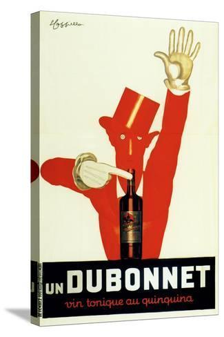 Dubonnet Quinquina Vintonique--Stretched Canvas Print