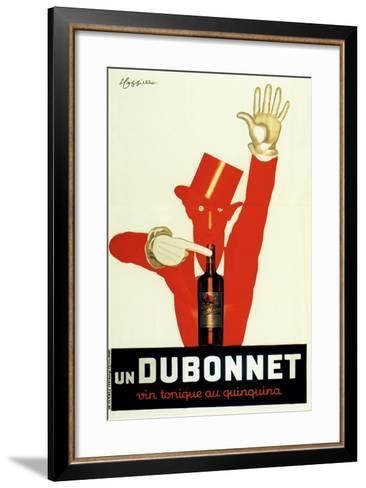 Dubonnet Quinquina Vintonique--Framed Art Print