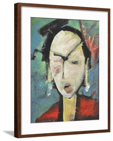 Geisha-Tim Nyberg-Framed Art Print