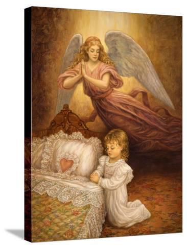 Good Night Prayer-Edgar Jerins-Stretched Canvas Print
