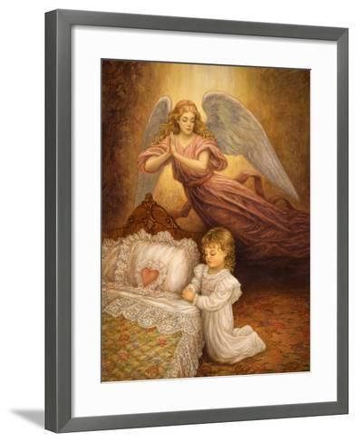 Good Night Prayer-Edgar Jerins-Framed Art Print