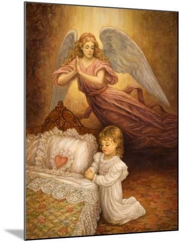 Good Night Prayer-Edgar Jerins-Mounted Giclee Print