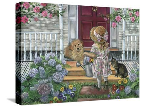 Home Sweet Home-Tricia Reilly-Matthews-Stretched Canvas Print