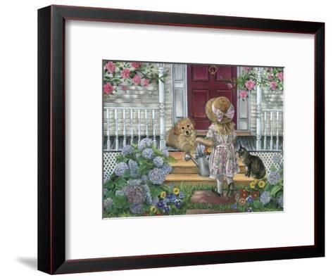 Home Sweet Home-Tricia Reilly-Matthews-Framed Art Print