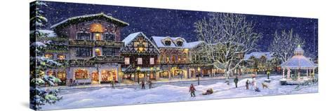 Hometown Holiday-Jeff Tift-Stretched Canvas Print
