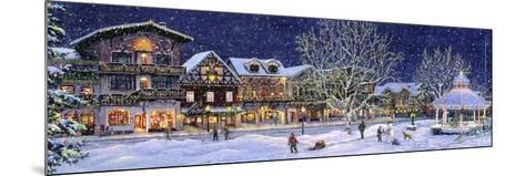 Hometown Holiday-Jeff Tift-Mounted Giclee Print