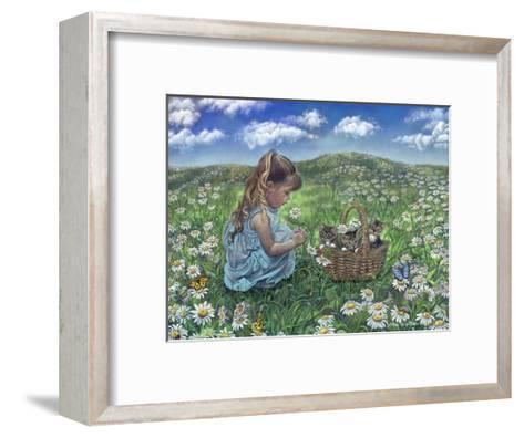 He Loves Me, He Loves Me Not-Tricia Reilly-Matthews-Framed Art Print