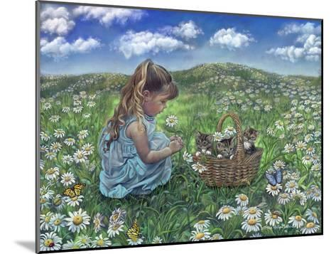 He Loves Me, He Loves Me Not-Tricia Reilly-Matthews-Mounted Giclee Print