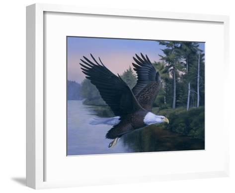 Eagle Soaring-Rusty Frentner-Framed Art Print