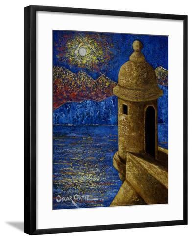 Fort-Oscar Ortiz-Framed Art Print