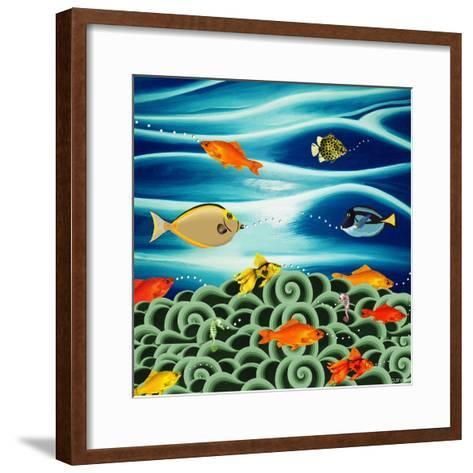 Fishtales I-David Sheskin-Framed Art Print
