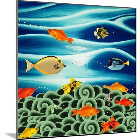 Fishtales I-David Sheskin-Mounted Giclee Print