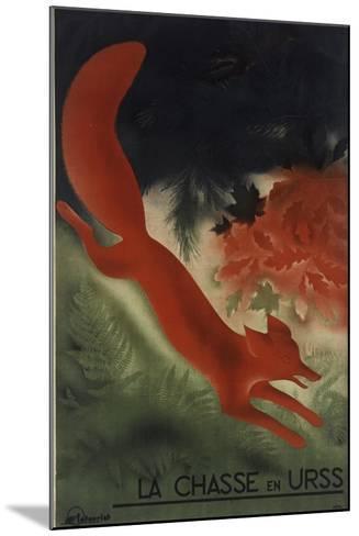 Fox USSR--Mounted Giclee Print