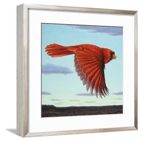 Flight-James W. Johnson-Framed Art Print