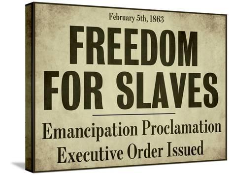 Emancipation--Stretched Canvas Print
