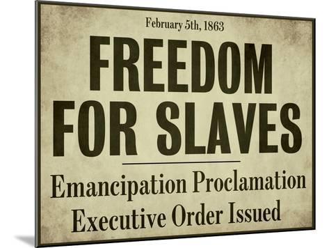Emancipation--Mounted Giclee Print