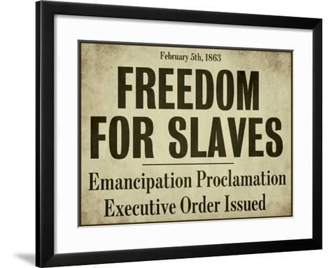 Emancipation--Framed Art Print