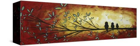 Family of Three-Megan Aroon Duncanson-Stretched Canvas Print