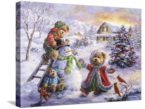 Fun Loving Merriment-Nicky Boehme-Stretched Canvas Print