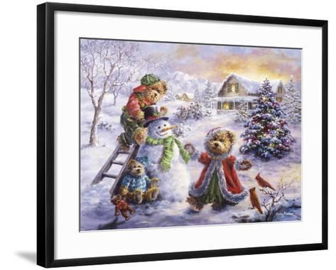 Fun Loving Merriment-Nicky Boehme-Framed Art Print