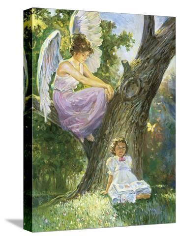 Guardian Angel-Hal Frenck-Stretched Canvas Print