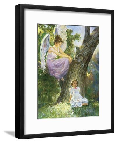 Guardian Angel-Hal Frenck-Framed Art Print