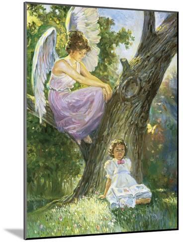 Guardian Angel-Hal Frenck-Mounted Giclee Print
