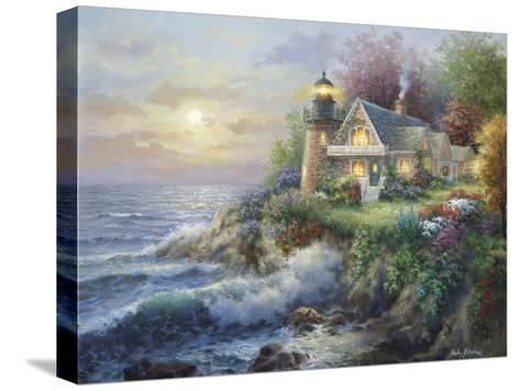 Guardian of the Sea-Nicky Boehme-Stretched Canvas Print