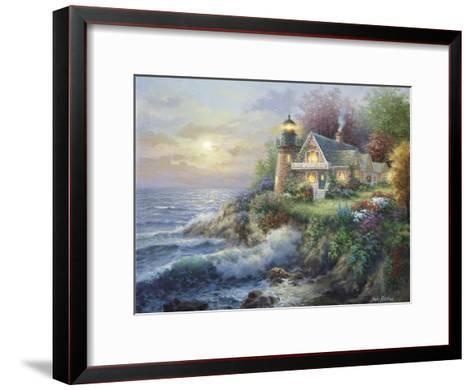 Guardian of the Sea-Nicky Boehme-Framed Art Print