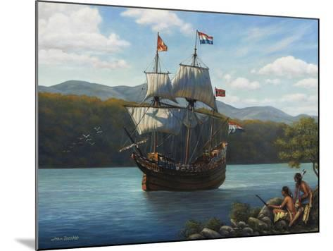 Half Moon on the Hudson-John Zaccheo-Mounted Giclee Print