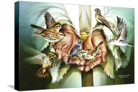 Hands-Spencer Williams-Stretched Canvas Print