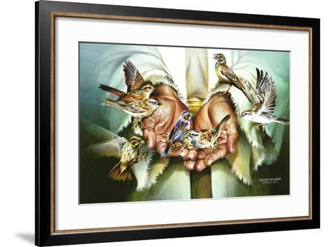 Hands-Spencer Williams-Framed Art Print