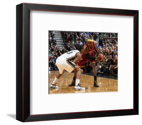 Cleveland Cavaliers v Utah Jazz-Melissa Majchrzak-Framed Art Print