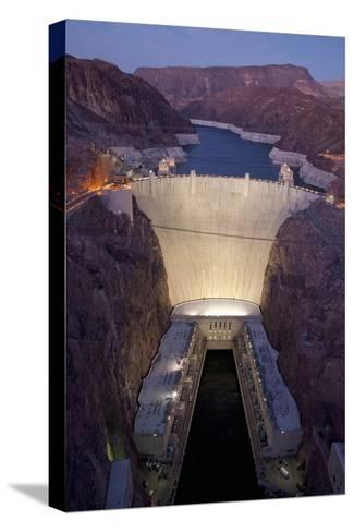 Hoover Dam, near Boulder City and Las Vegas, Nevada-Joseph Sohm-Stretched Canvas Print