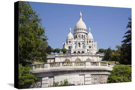Sacre Coeur Cathedral--Stretched Canvas Print