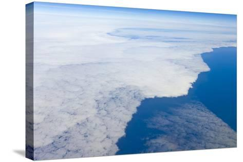 Aerial View of Clouds above Pacific Ocean near Chile-Momatiuk - Eastcott-Stretched Canvas Print