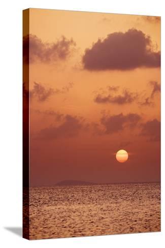 Sunset at St. John, U.S. Virgin Islands-Macduff Everton-Stretched Canvas Print